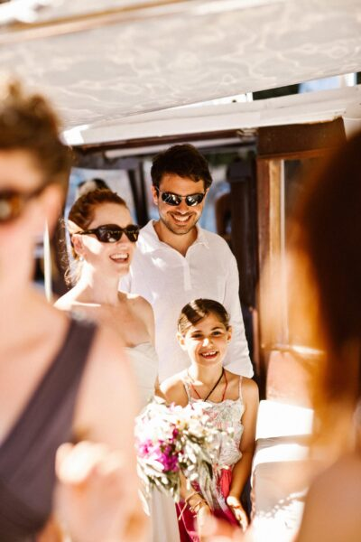 summer destination wedding in Greece