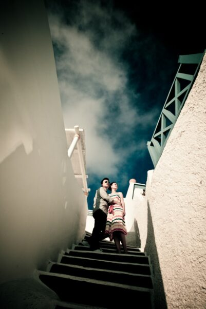 engagement photography santorini 2