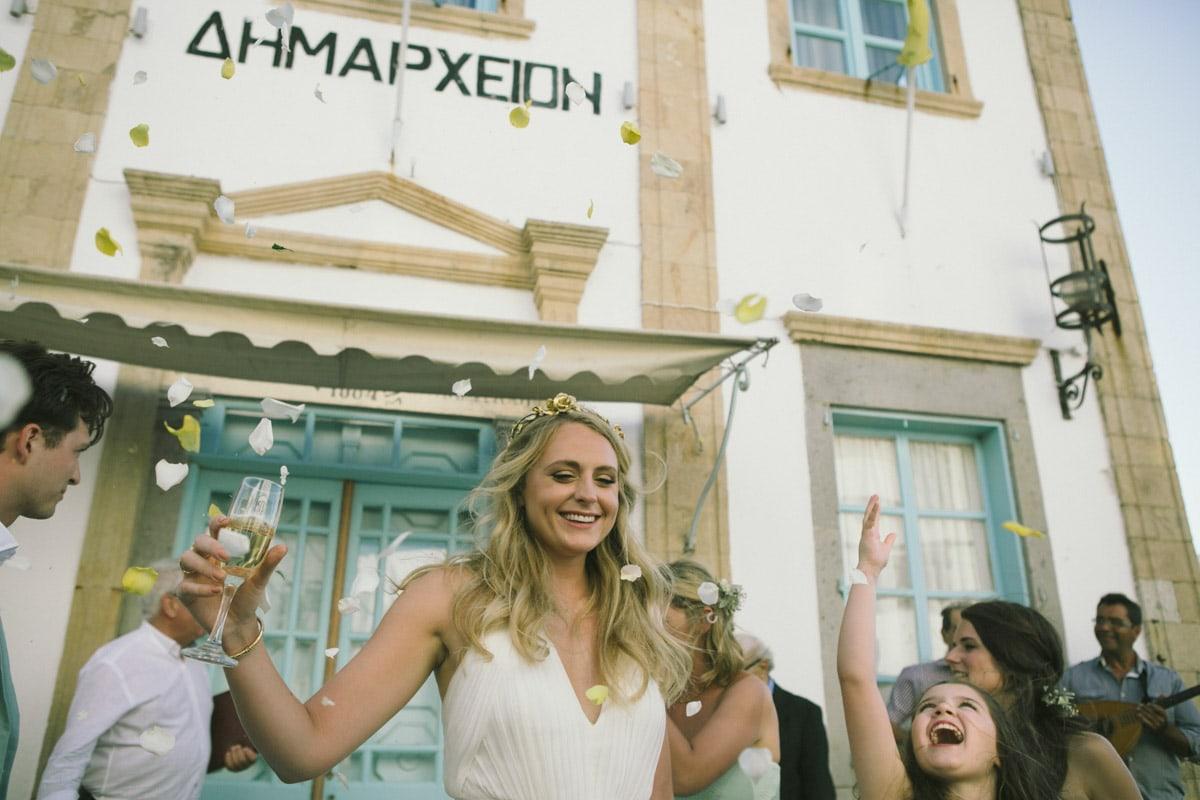 patmos destination summer wedding in greece