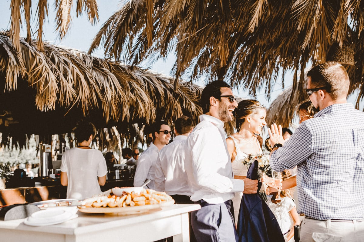 Bohemian Beach Wedding in Greece-1